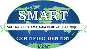 SMART certified dentist logo