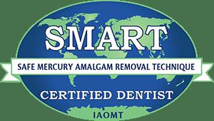 SMART certified dentist logo
